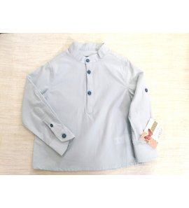 Camisa niño c/mao popelin