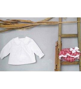Jesusito camisa-braguita cuadros teja