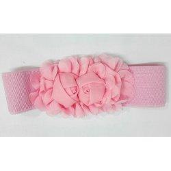 Cinturón elástico flores