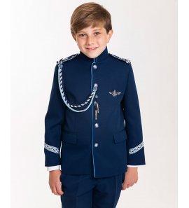 Almirante c/mao azul tinta/celeste