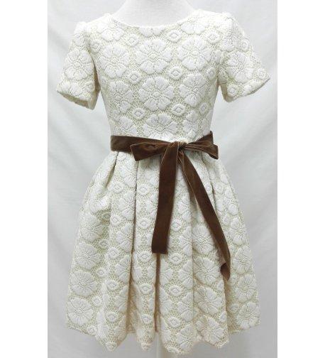 Vestido exclusivo marfil
