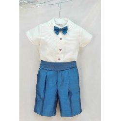 Conjunto niño azulón