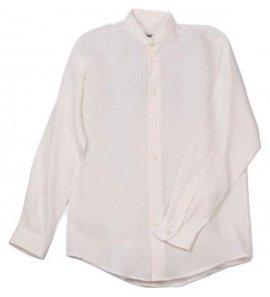 Camisa lino c/mao BLANCA