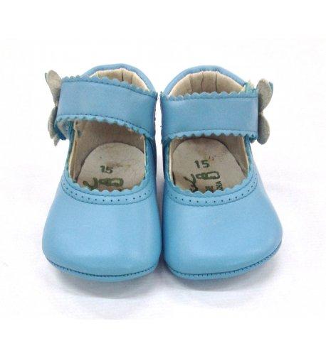 Zapato bebé turquesa