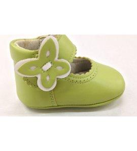 Zapato bebé pistacho