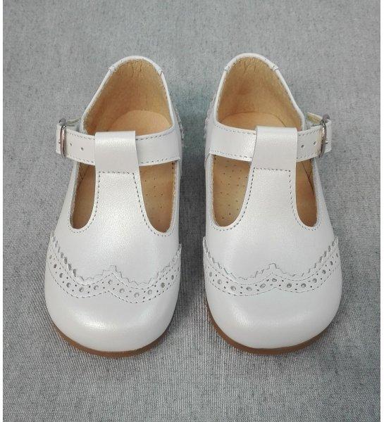 b94b293c Zapato NACAR BLANCO - Arca Boutique Infantil-Juvenil