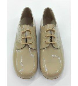 Zapato charol CAMEL