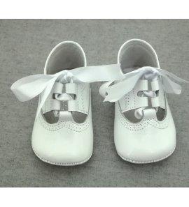 Zapato inglesina charol BLANCO
