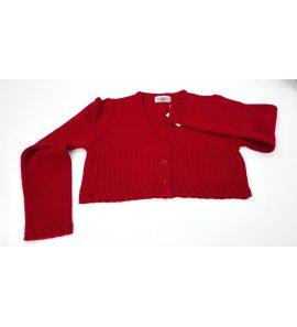Chaqueta lana GRANATE