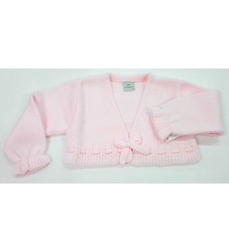 49ef726b2 Chaqueta lana lazo ROSA - Arca Boutique Infantil-Juvenil