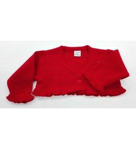 Chaqueta lana ROJA