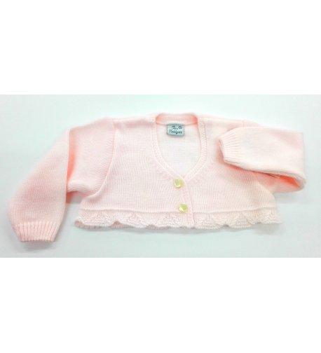 b16a577e0 Chaqueta lana ROSA - Arca Boutique Infantil-Juvenil