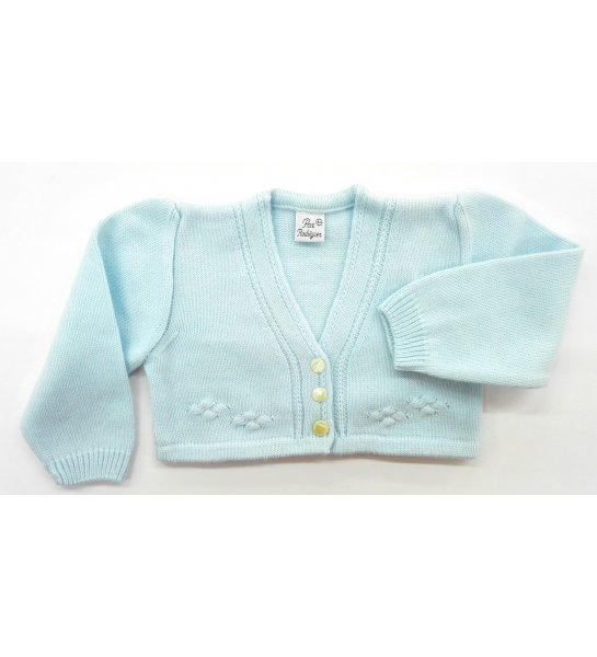 1e832f1f0 Chaqueta bebé lana CELESTE - Arca Boutique Infantil-Juvenil