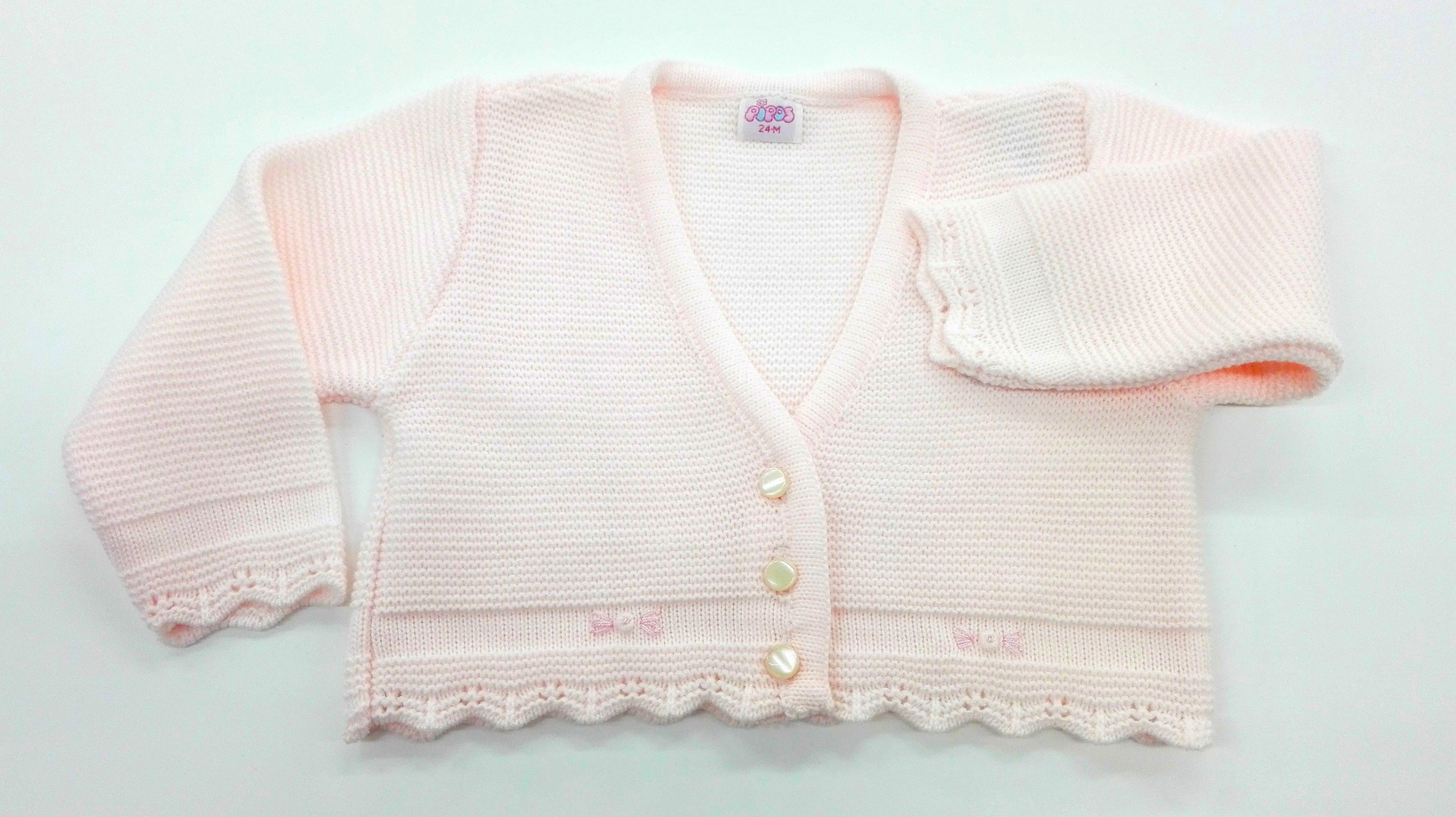 ee0f548bd Chaqueta lana ROSA - Arca Boutique Infantil-Juvenil