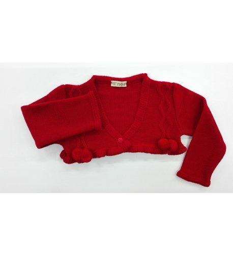 Roja Boutique Arca Juvenil Infantil Lana Chaqueta HwxC5zqgt