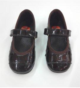 Zapato cocodrilo MARRON