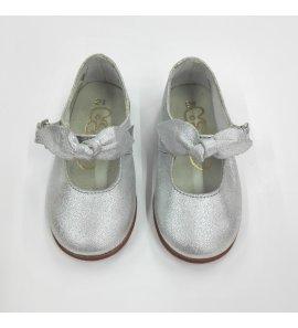 Zapato plata lazo