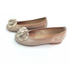 Zapato BAILARINA Charol VISÓN