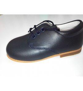 Zapato cordón PIEL MARINO