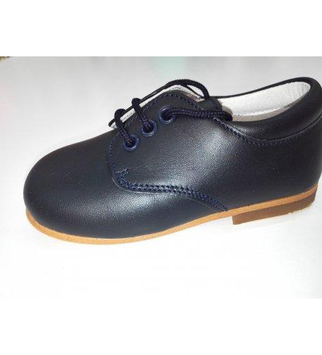 e74545239 Zapato cordón PIEL MARINO - Arca Boutique Infantil-Juvenil