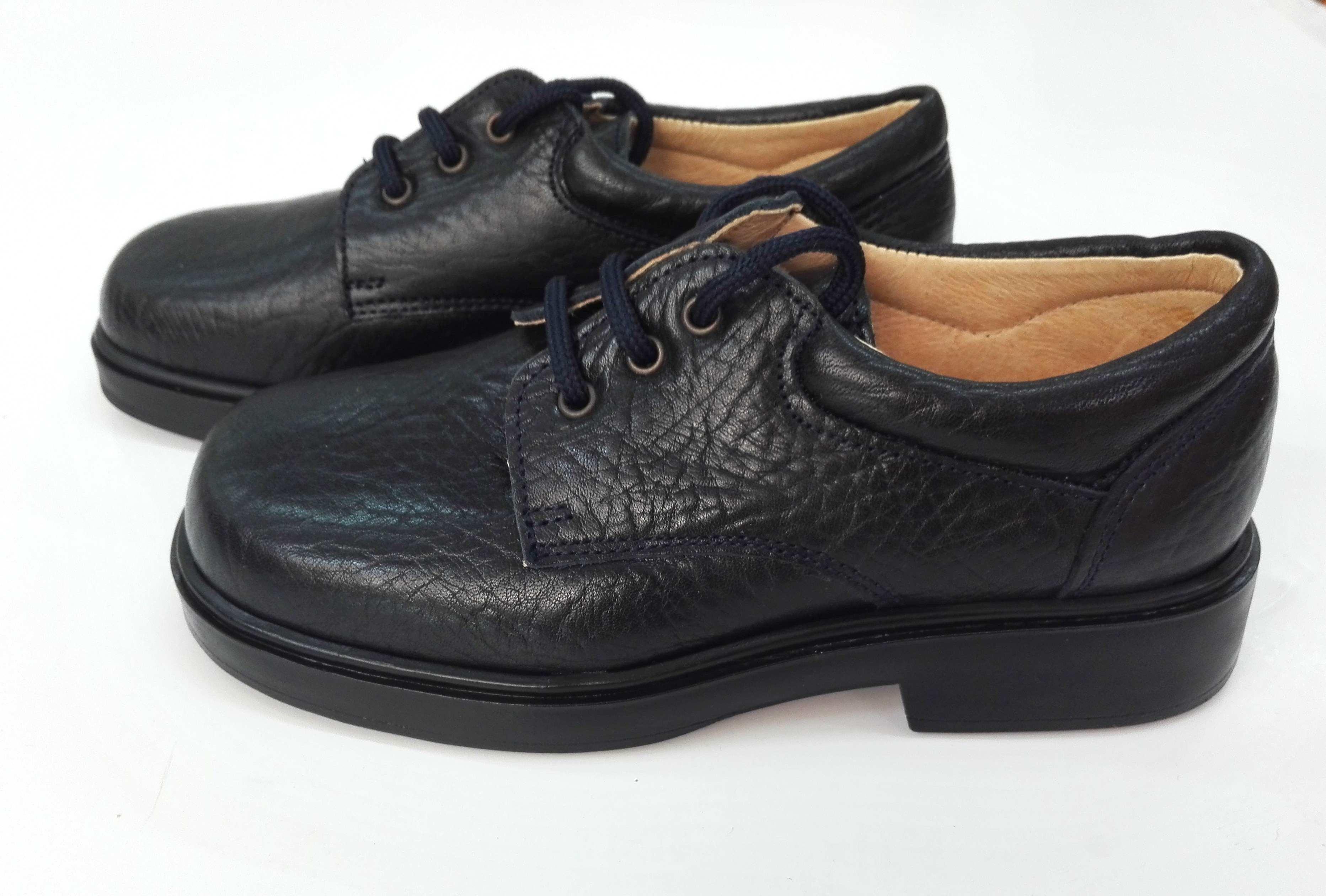 41f45bea1 Zapato cordón piel MARINO - Arca Boutique Infantil-Juvenil