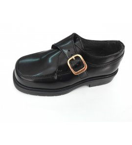 Zapato hebilla PIEL NEGRO