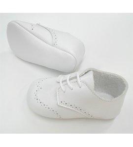 Zapato bebe cordón ceremonia