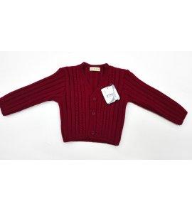 Chaqueta lana niño trenzas