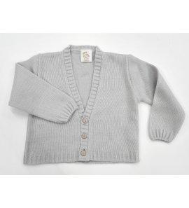 Chaqueta lana niño lisa