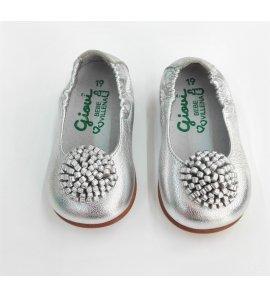Zapato BAILARINA PLATA