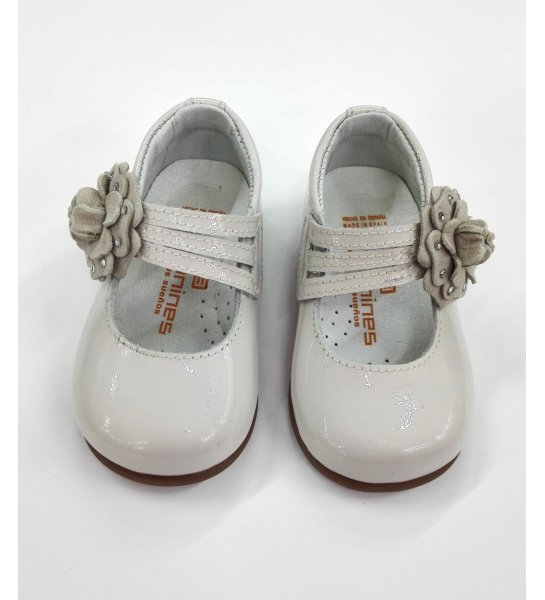 a0d5e350 Zapato merceditas flor - Arca Boutique Infantil-Juvenil