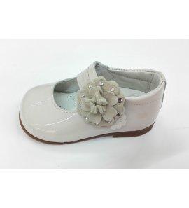 Zapato merceditas flor