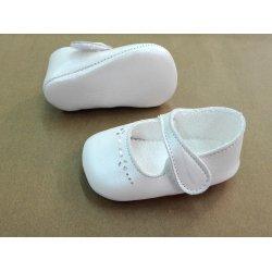 Zapato niña bautizo beige