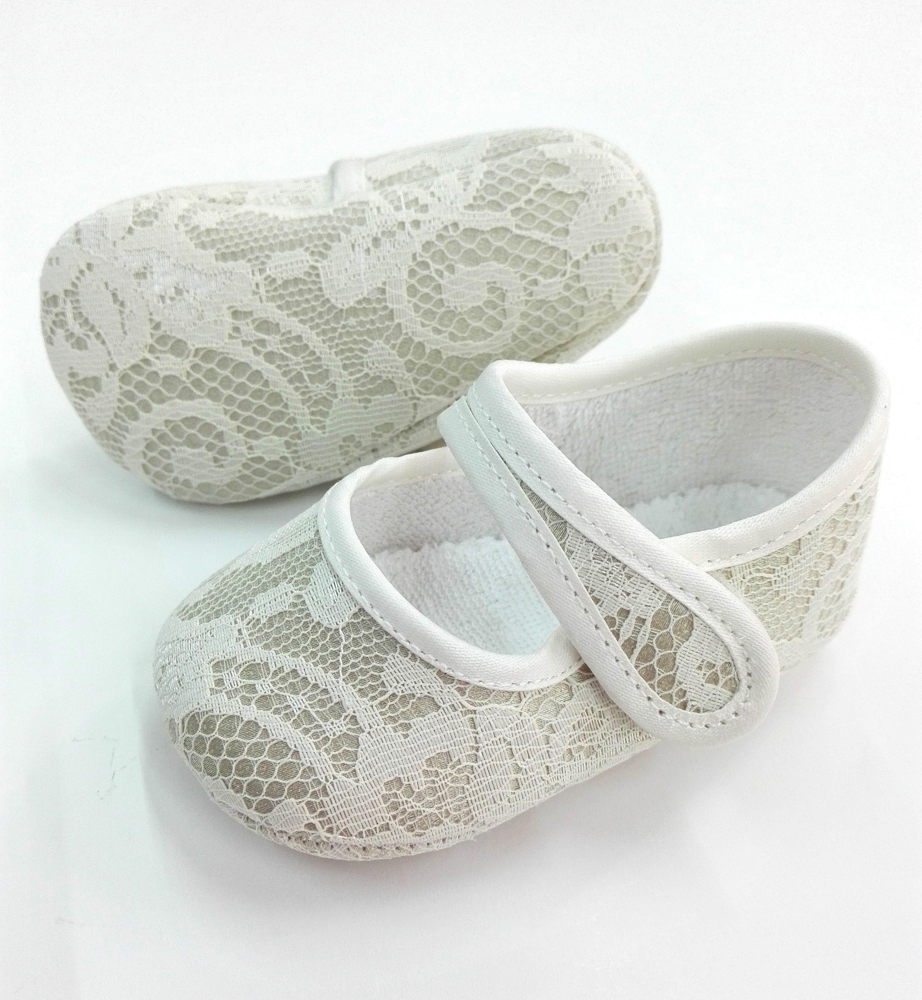 1c2ffee0 Zapato niña encaje beige - Arca Boutique Infantil-Juvenil