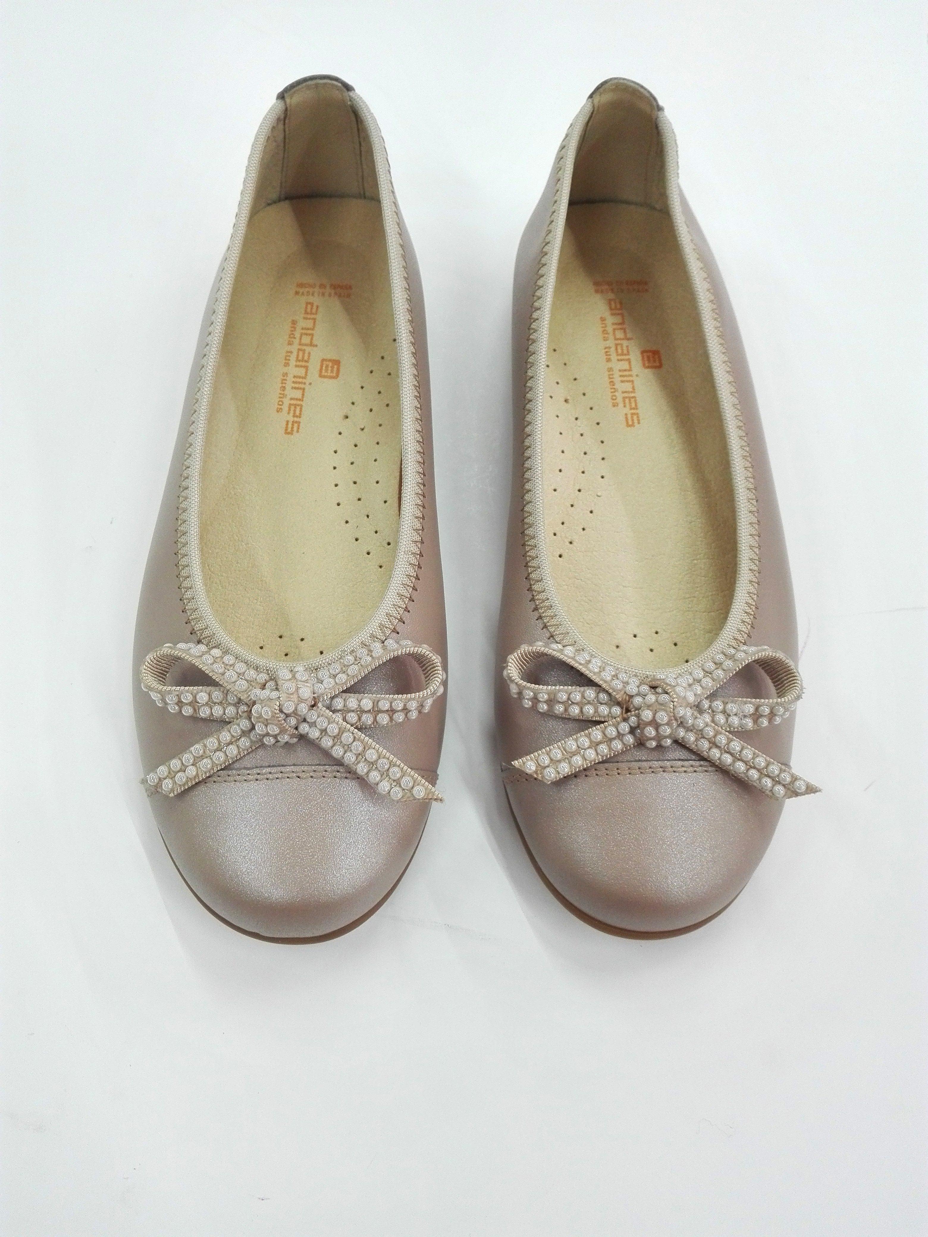 b0d5a7eb4b Bailarina lazo perlas - Arca Boutique Infantil-Juvenil