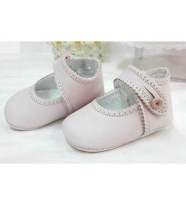 Zapato BEBE piel rosa