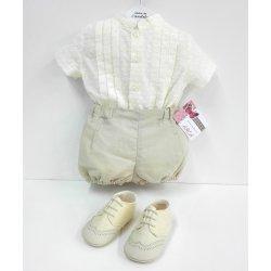 Conjunto bebé plumetti -lino