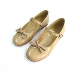 Zapato niña piel-ch visón