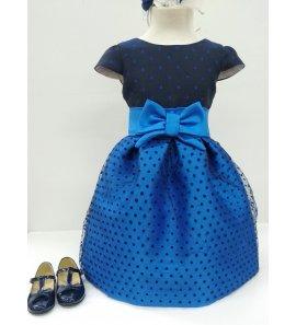 Vestido azulón plumetti marino