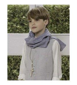 Foulard niño azul