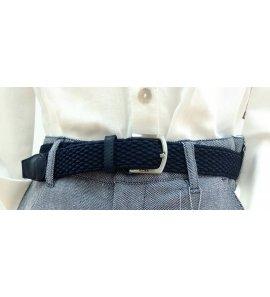 Cinturón trenzado MARINO