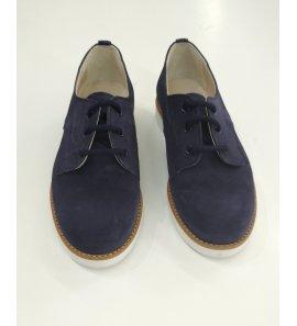 Zapato niño ante marino