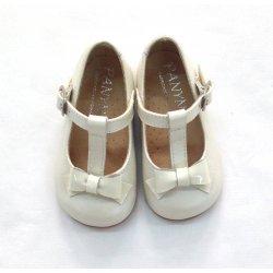 Zapato nacar beige