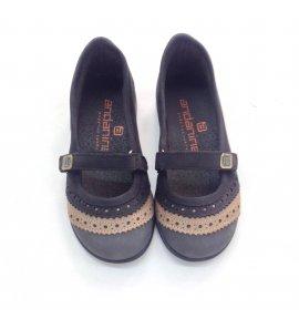 Zapatos ante combinado