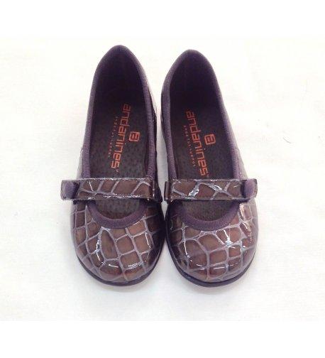 Zapato charol pitón