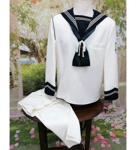 Marinero clásico beige/marino