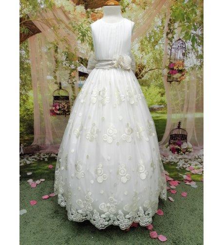 Vestido COMUNIÓN exclusivo bordado