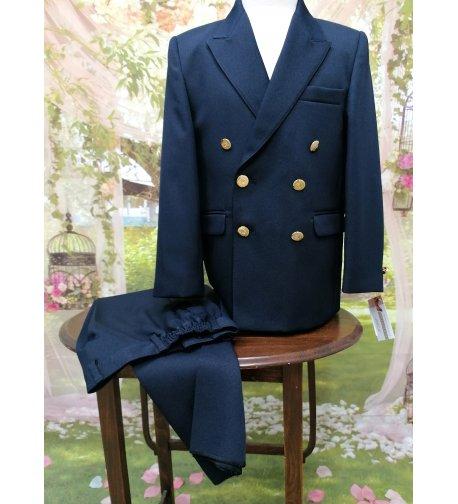 Traje chaqueta clásico marino