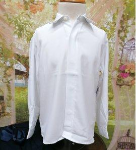 Camisa CEREMONIA seda blanca
