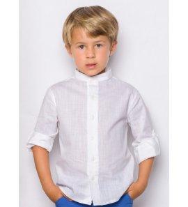 Camisa lino niño c/mao